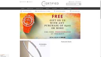 CertifiedWatchStore.com reviews