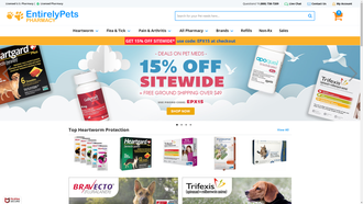 entirelypetspharmacy.com reviews